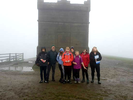 Group shot a Rivington Pike