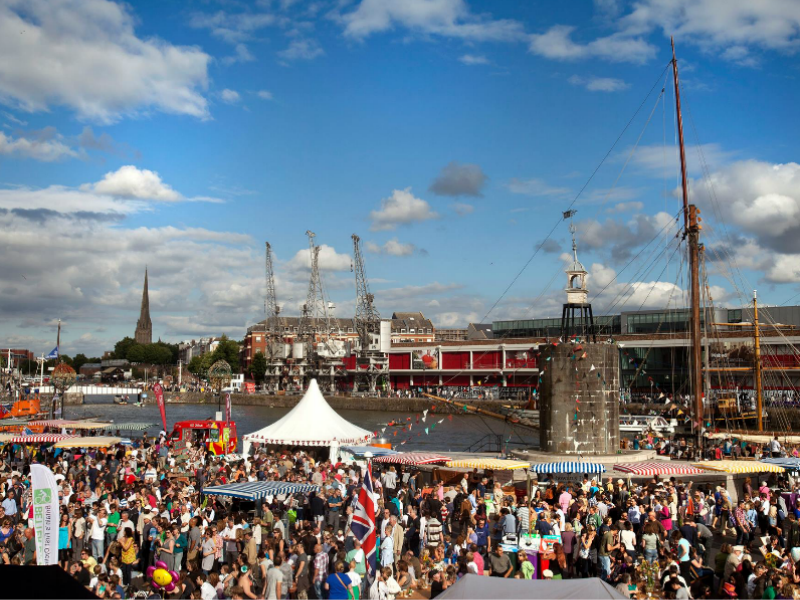 Harbourside Festival in Bristol