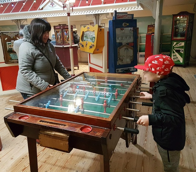 able Football at Wookey Hole