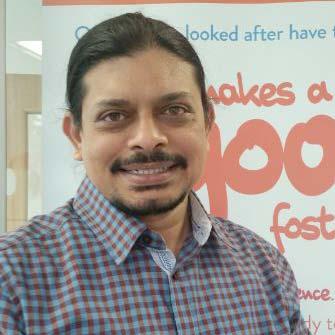 Cardiff Foster Care Supervising Social Worker Amol Khamkar